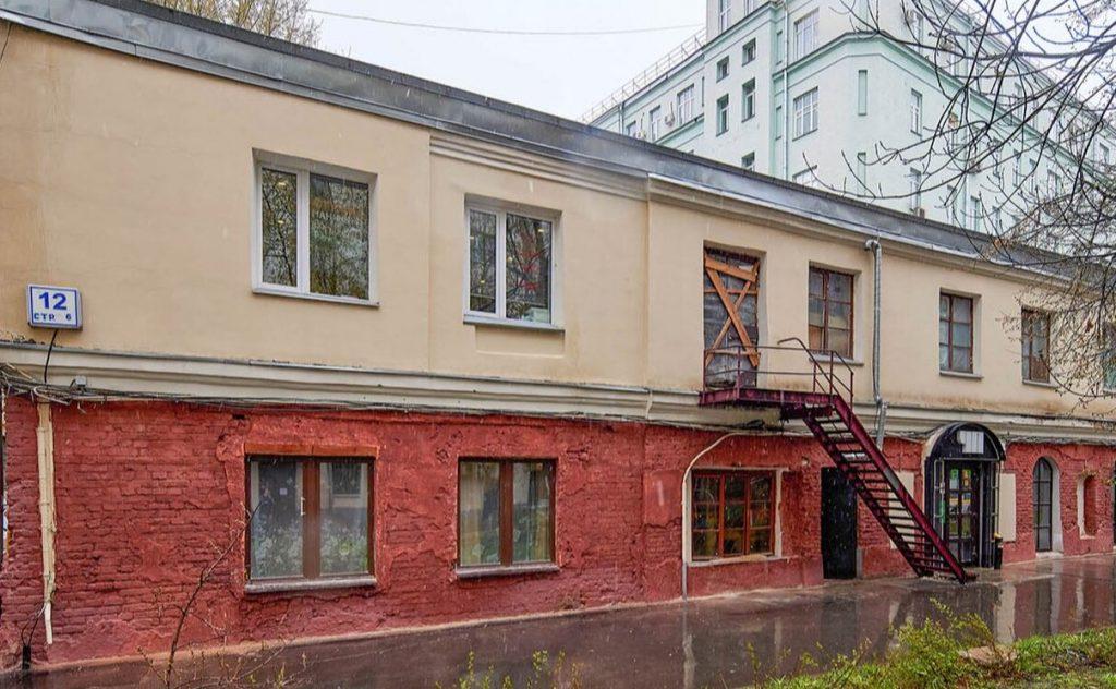 Дом ХХ века в Басманном районе капитально отремонтируют. Фото: сайт мэра Москвы