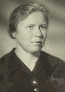 Устинова Александра Васильевна, 1980 год. Фото взято из личного архива