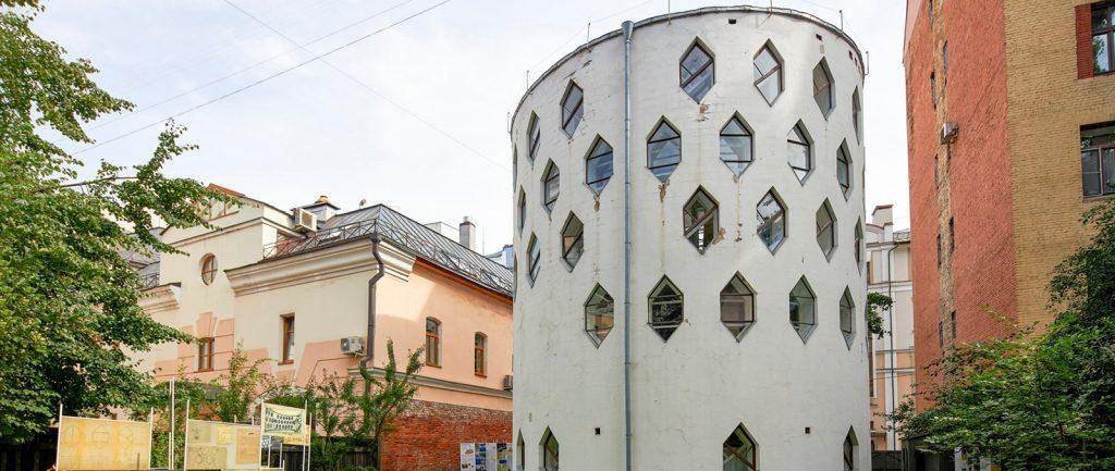 Фасад здания Дома Мельникова не изменят во время реставрации