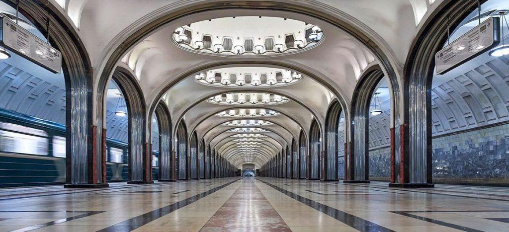 Теперь влюбленные смогут пожениться на станции метро «Маяковская». Фото: сайт мэра Москвы