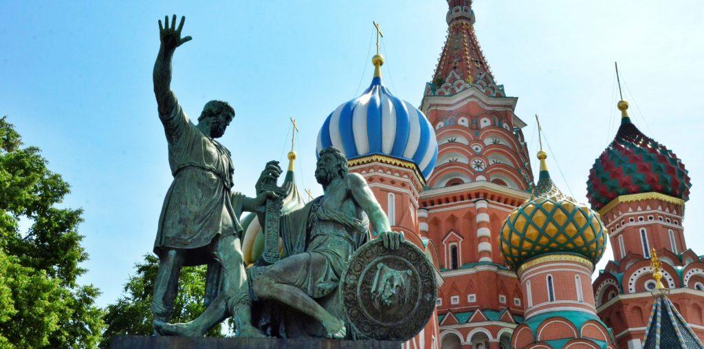 Реставрация памятника Минину и Пожарскому стартовала в Москве