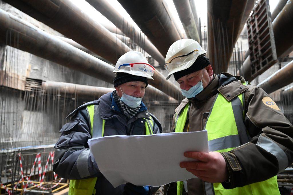 Эксперты дали оценку строительству станции «Рижская» Большой кольцевой линии метро