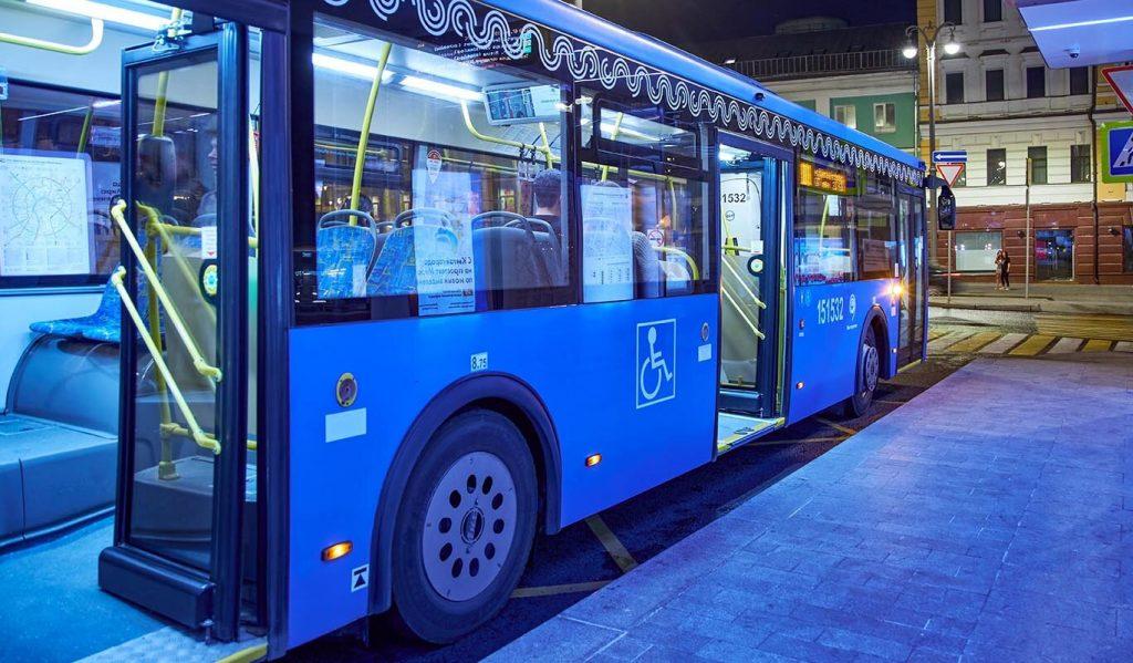 Ночной автобус запустят от станции метро «Китай-город»