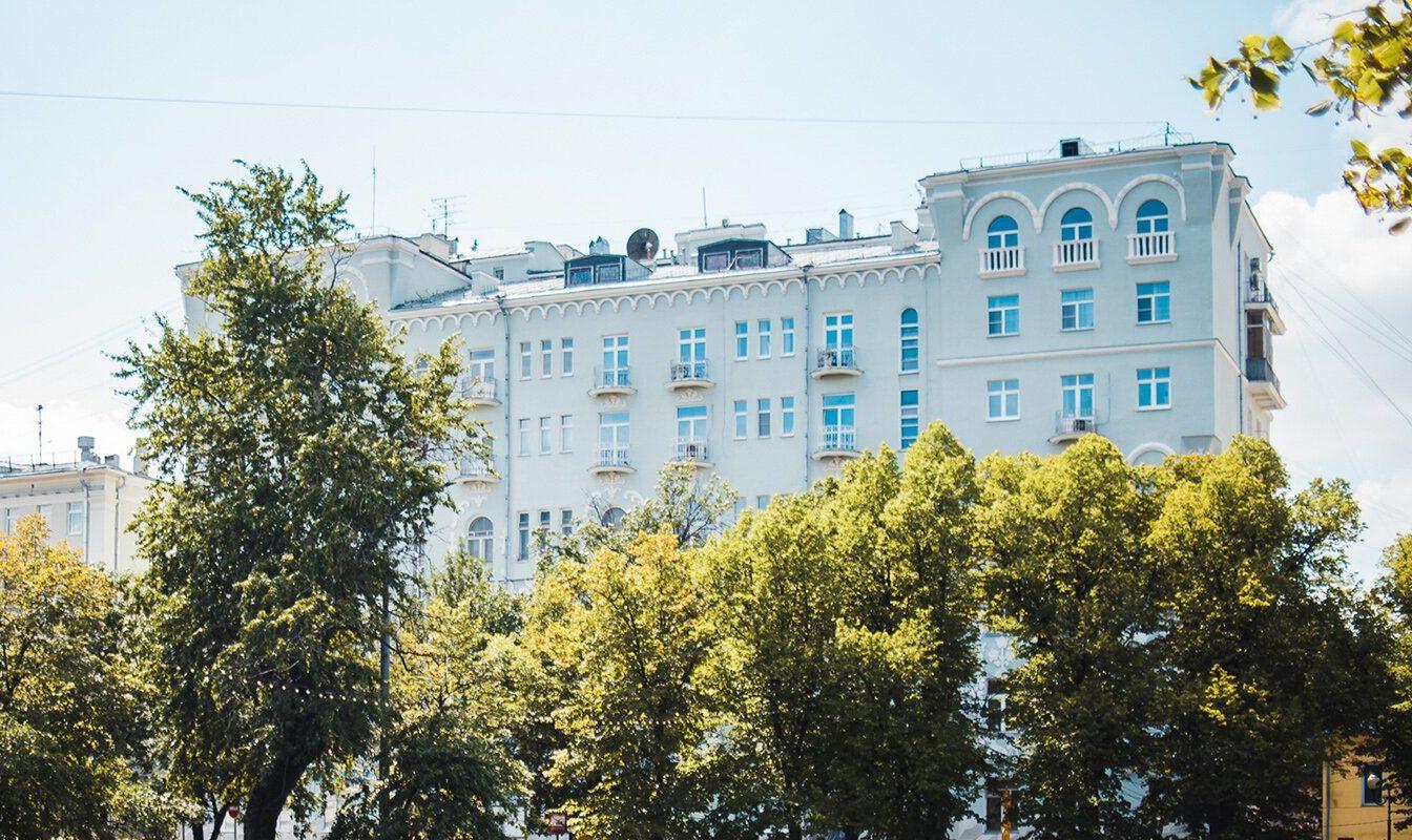 Дом на Чистопрудном бульваре капитально отремонтируют. Фото: сайт мэра Москвы