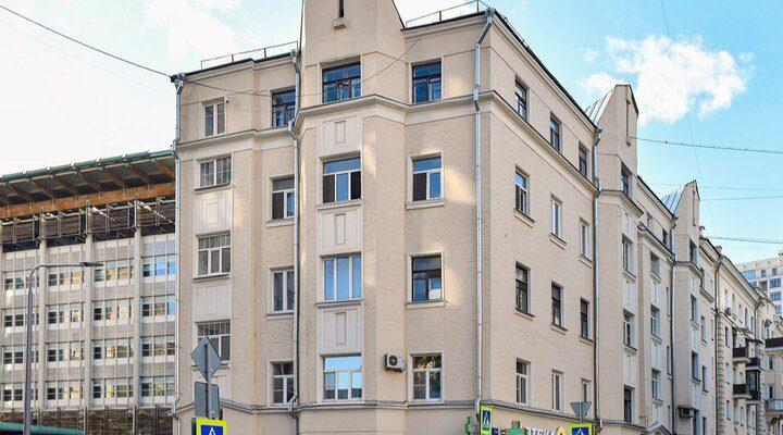 Сталинскую пятиэтажку на Арбате отремонтируют. Фото: сайт мэра Москвы