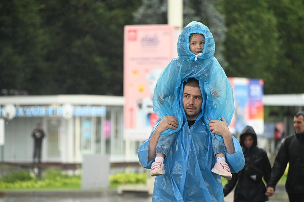 Грозу и тепло стоит ожидать в столице в субботу