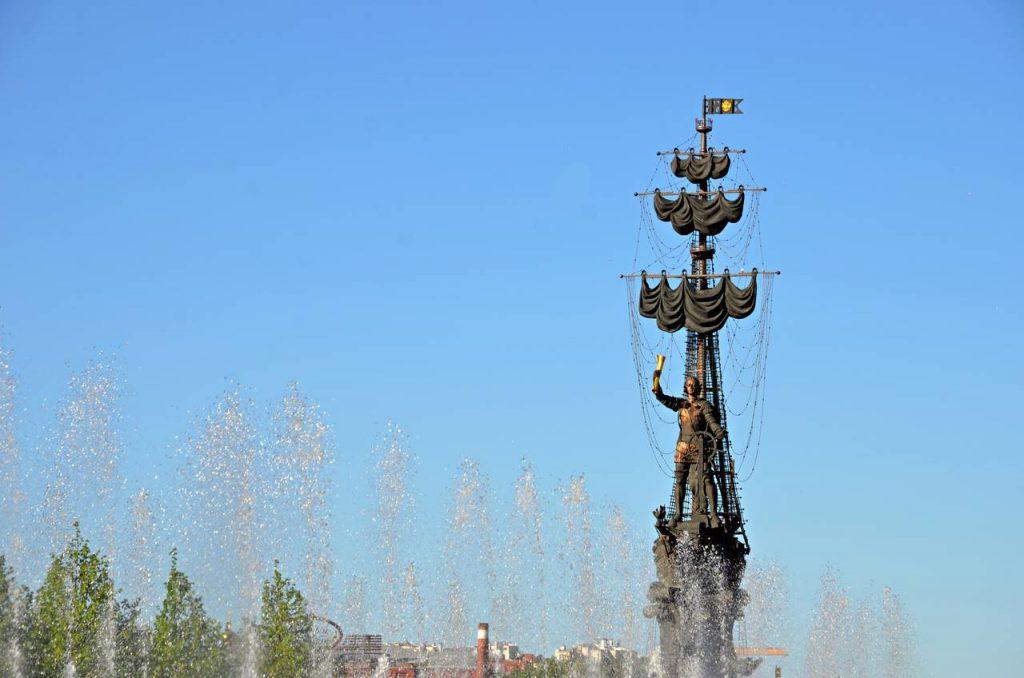 Монумент Петру I отреставрируют в районе Якиманка