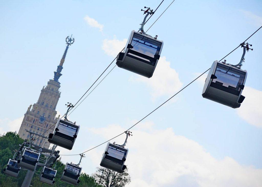Московская канатная дорога объявила акцию для молодоженов