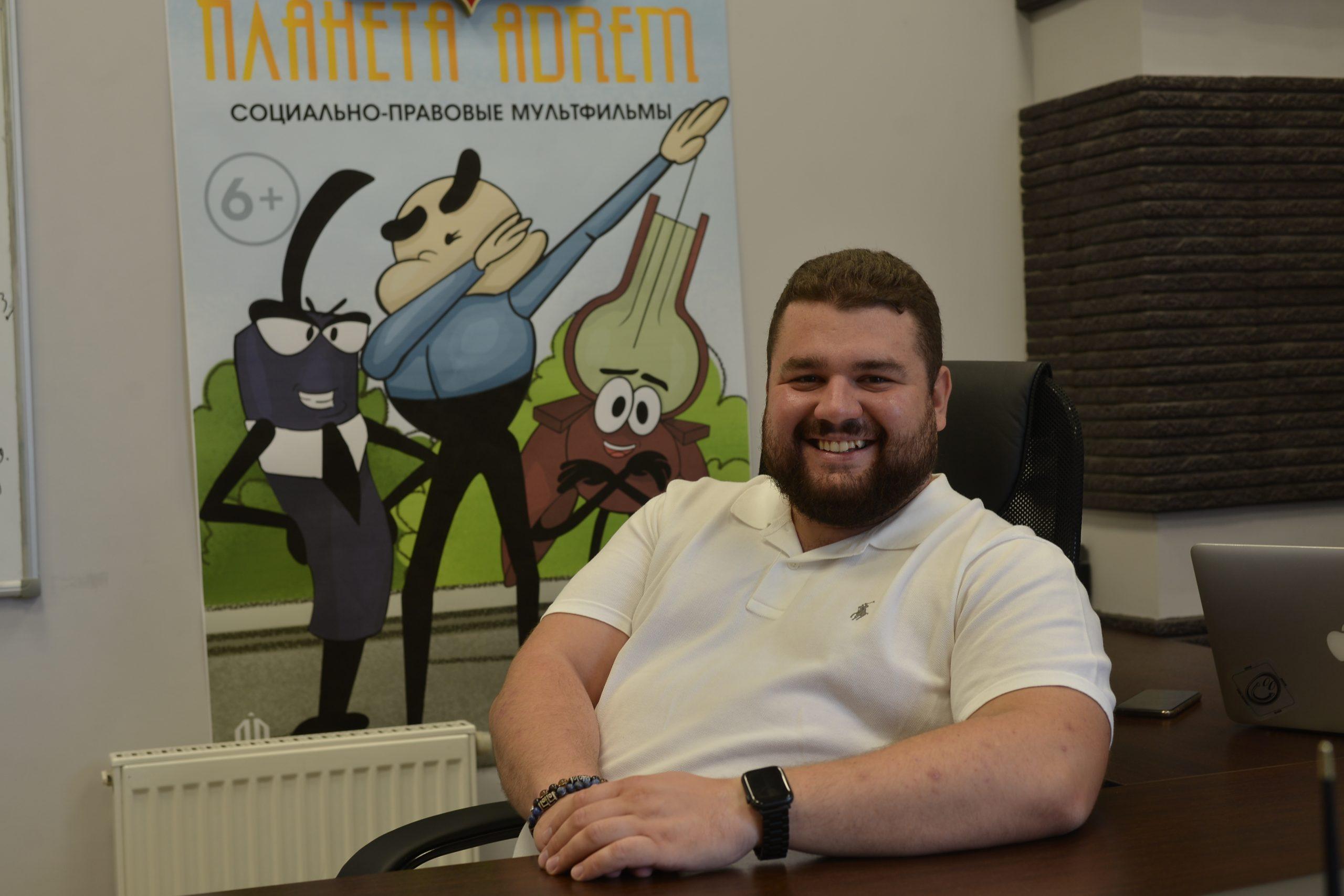 Председатель Молодежной палаты района Арбат Дмитрий Лесняк. Фото: Анна Малакмадзе, «Вечерняя Москва»