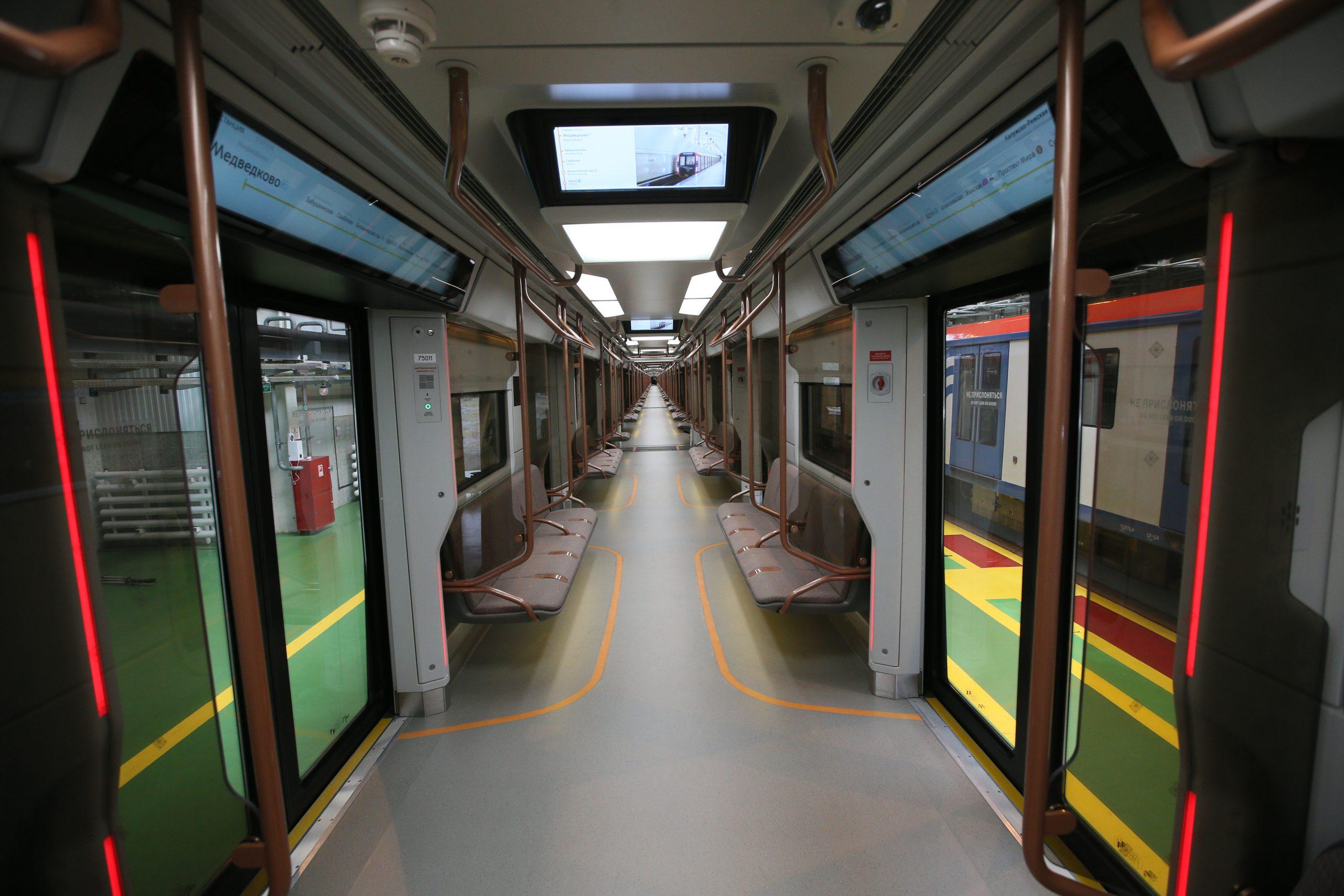 Темпы обновления поездов метро в Москве - самые быстрые в мире. Фото: Антон Гердо, «Вечерняя Москва»