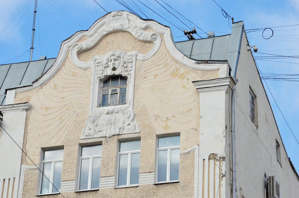 Административное здание 1930 года обновят в районе Хамовники
