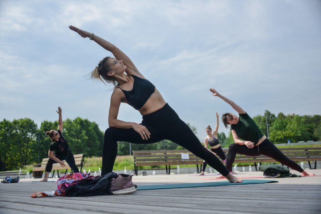 Парки Москвы возобновили спортивные тренировки в рамках проекта