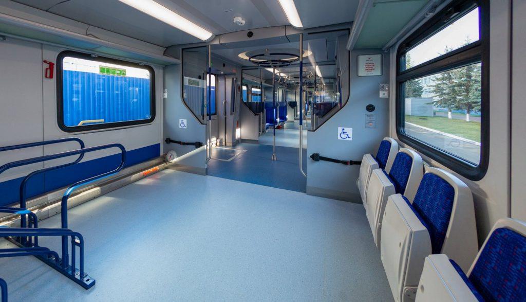 Поезд «Иволга 3.0» представили на Ярославском вокзале