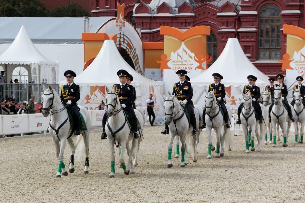 Военный оркестр из Греции сыграет на фестивале «Спасская башня». Фото: Владимир Смоляков, «Вечерняя Москва»