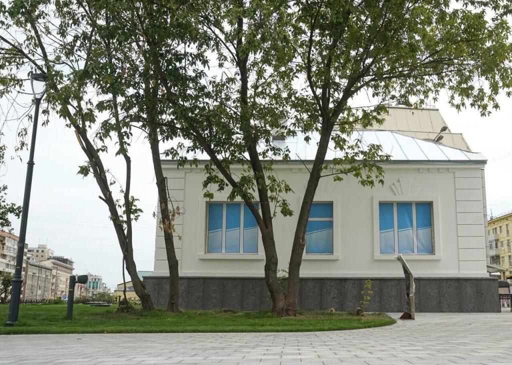 Ремонт здания кордегардии в Пресненском районе подходит к концу