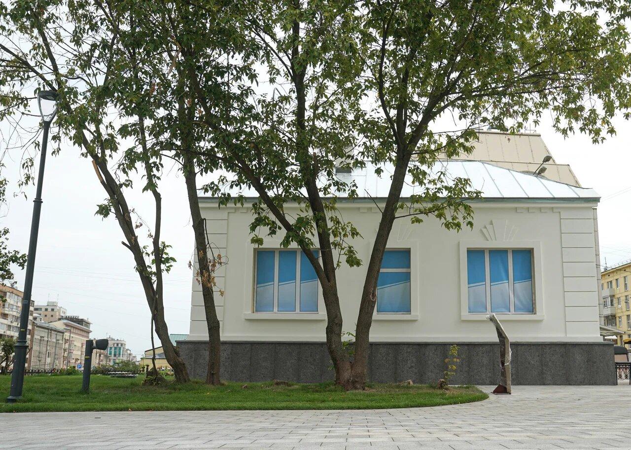 Ремонт здания кордегардии в Пресненском районе подходит к концу. Фото от пресс-службы Комплекса городского хозяйства Москвы