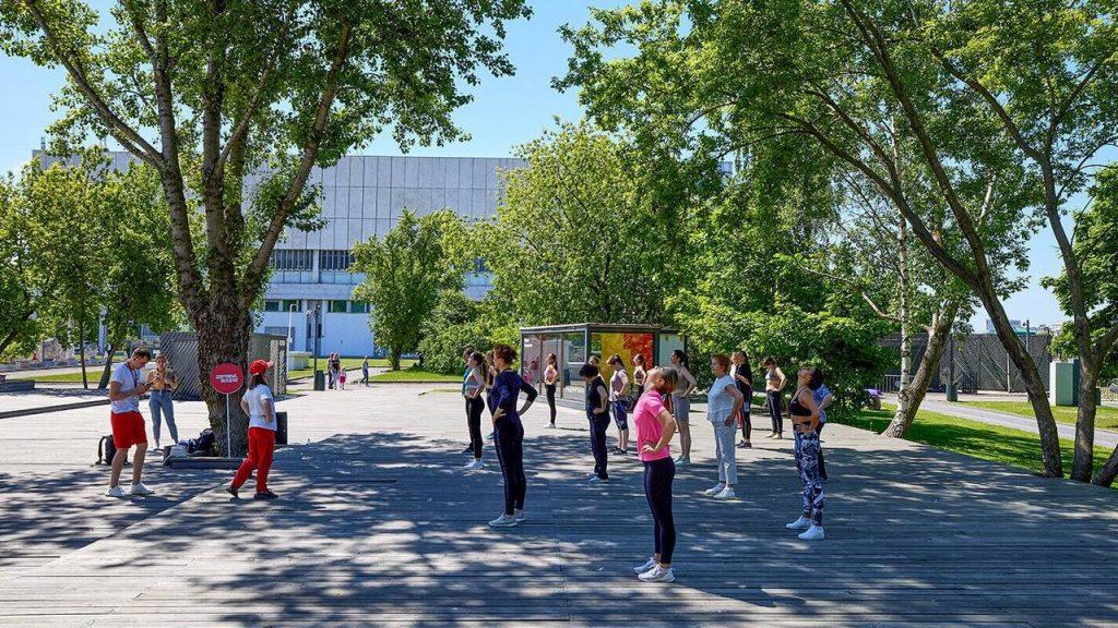 Окружные спортивные соревнования провели в Мещанском районе
