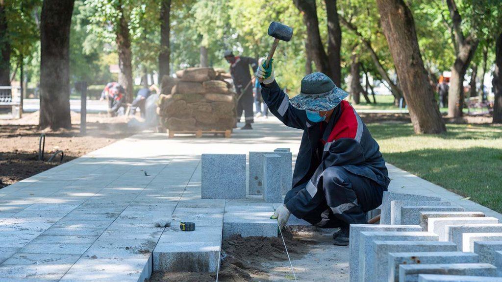 Комплексное благоустройство проведут во дворах Мещанского района