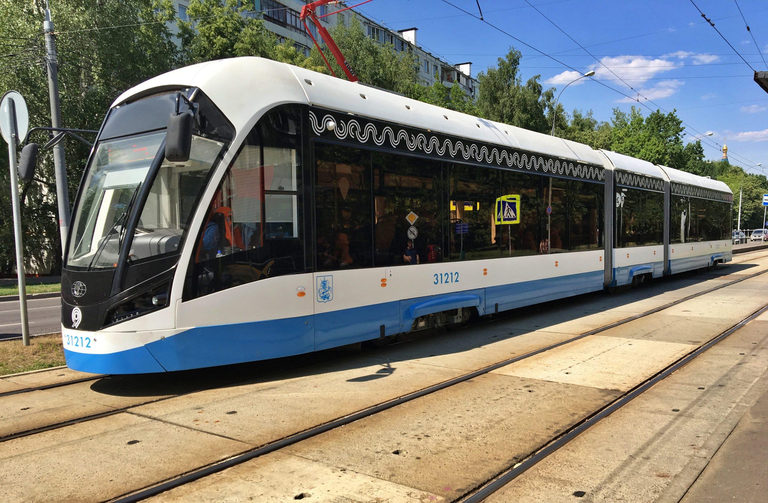 Трамваи в двух районах Центрального административного округа изменят маршрут. Фото: Анна Быкова