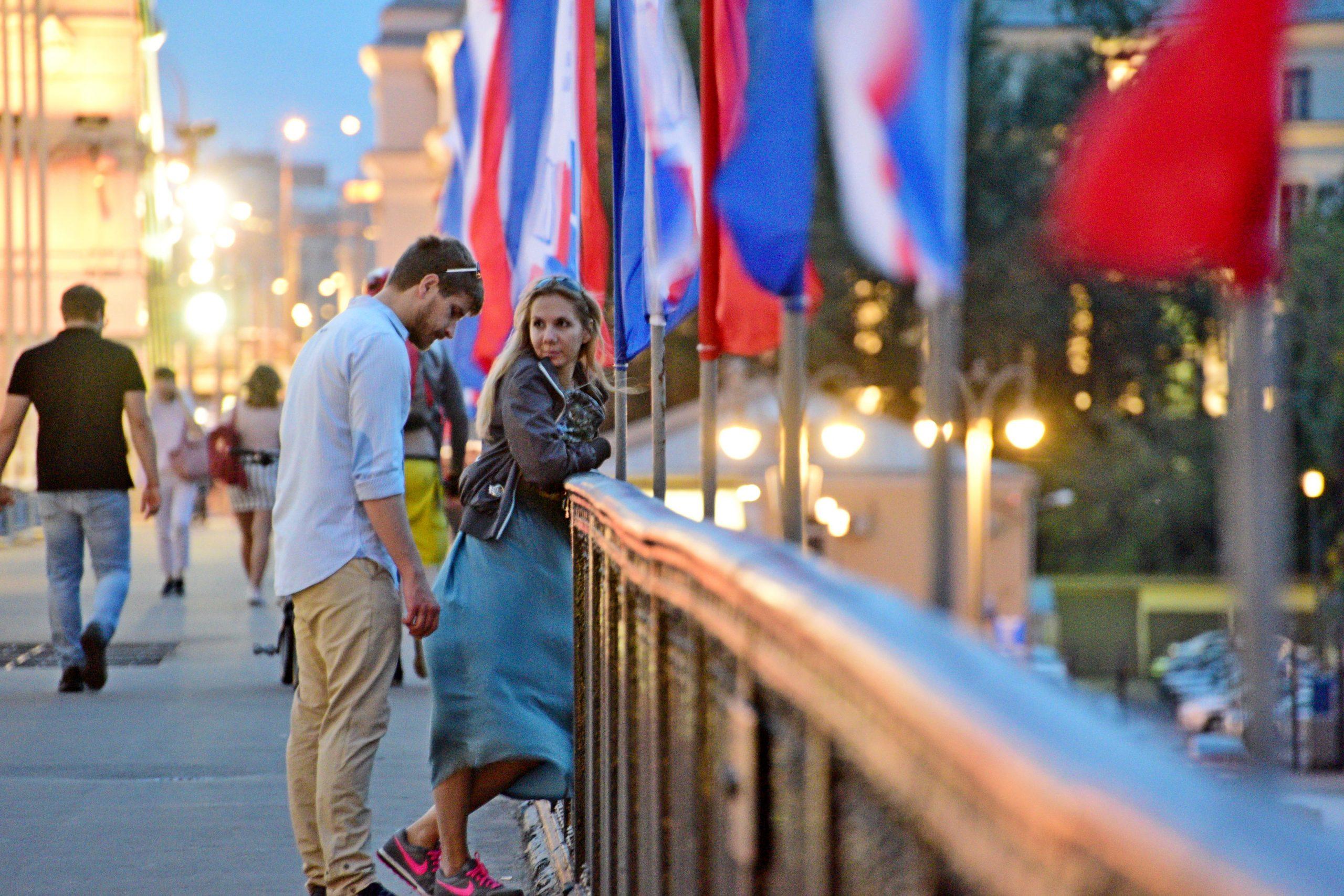 Новые пешеходные мосты возведут в центре Москвы. Фото: Пелагия Замятина, «Вечерняя Москва»