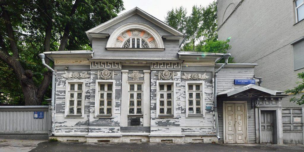 Фасады дома Палибина отреставрируют в Хамовниках