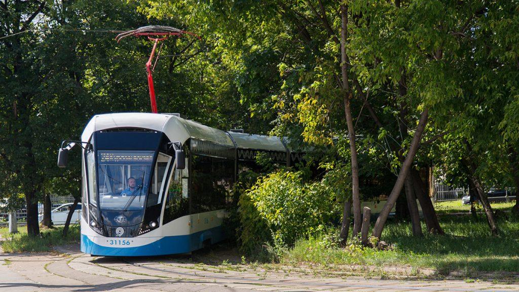 Снова в строю: движение трамвая №38 восстановили в центре Москвы
