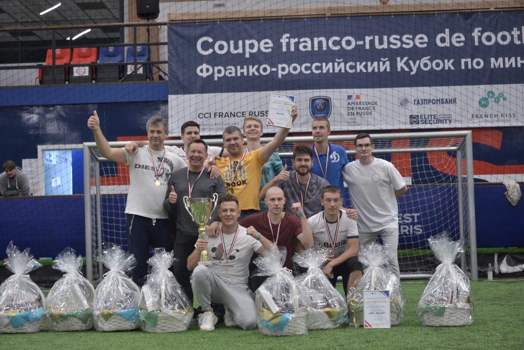 Игроки команды Bostik стали победителями Золотого плей-офф Франко-российского кубка по мини-футболу