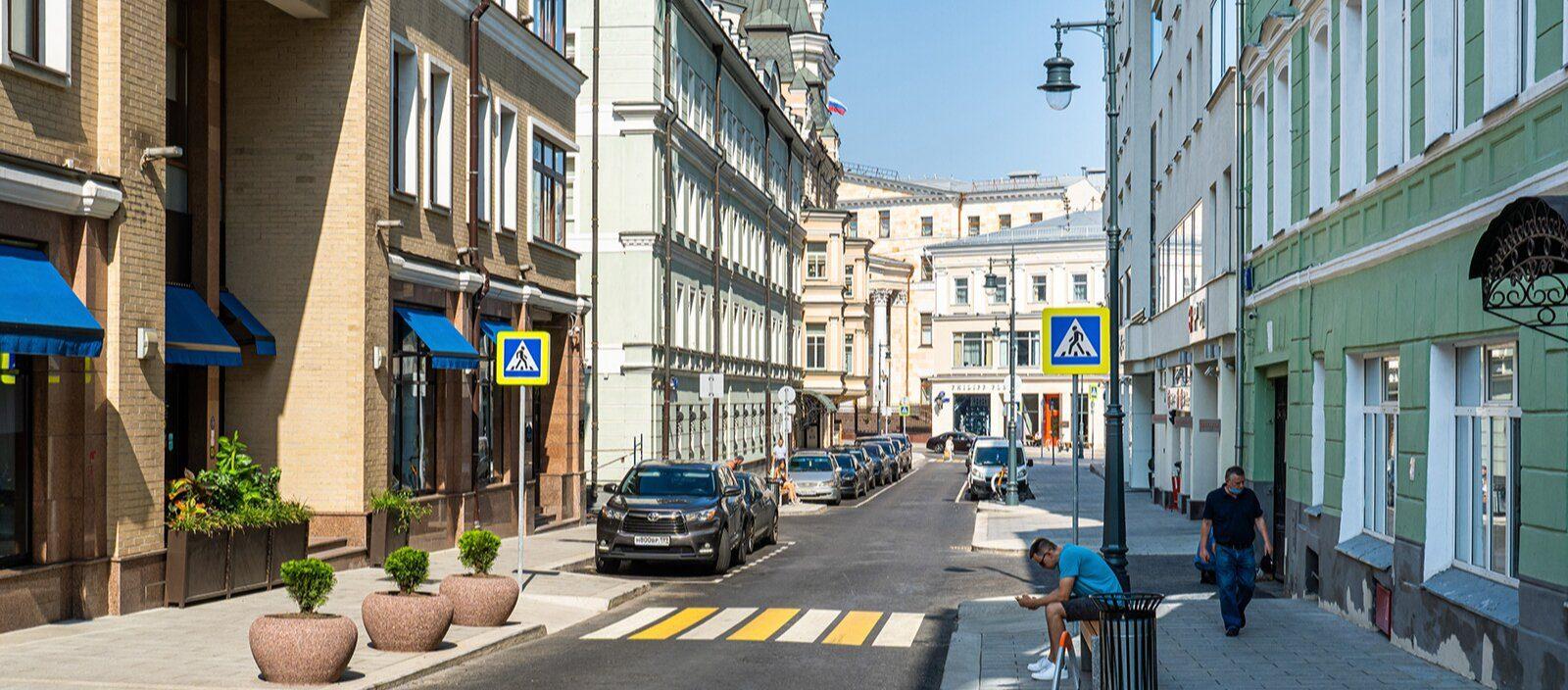 Новый пешеходный маршрут появился в Тверском районе. Фото: сайт мэра Москвы
