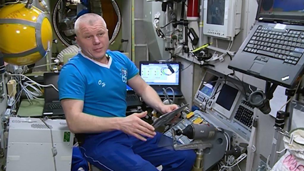 Космонавт Олег Новицкий будет участвовать в сентябрьских выборах с орбиты онлайн