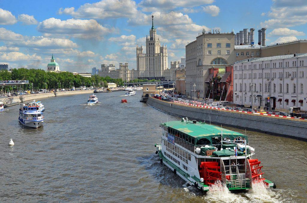 Жители Москвы проголосовали за название речного трамвая