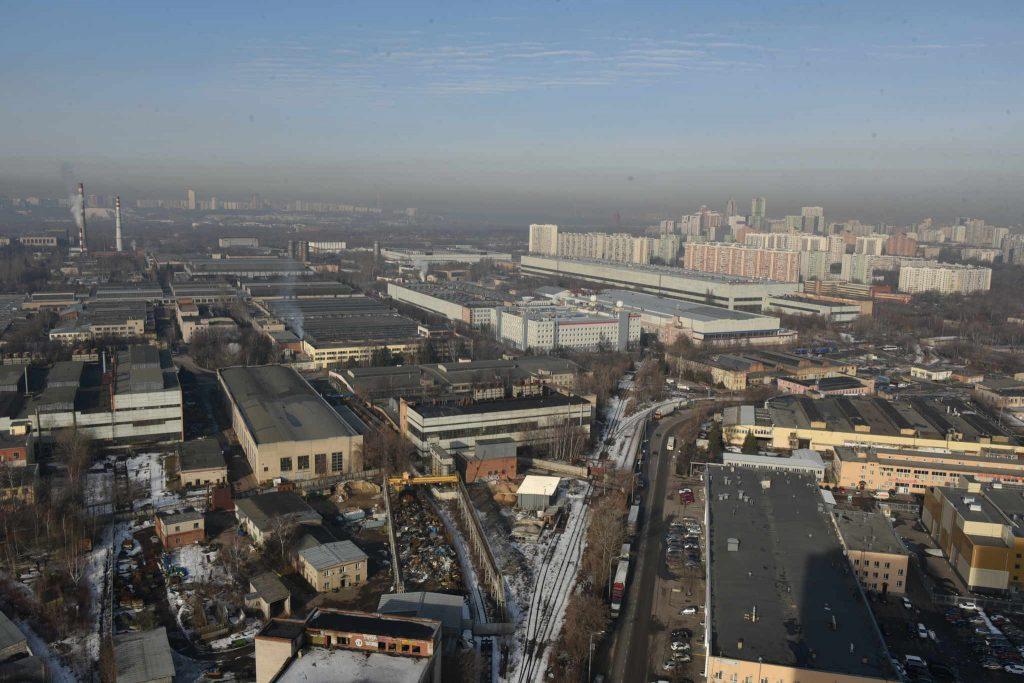 Объекты недвижимости возведут в бывших промзонах центра столицы