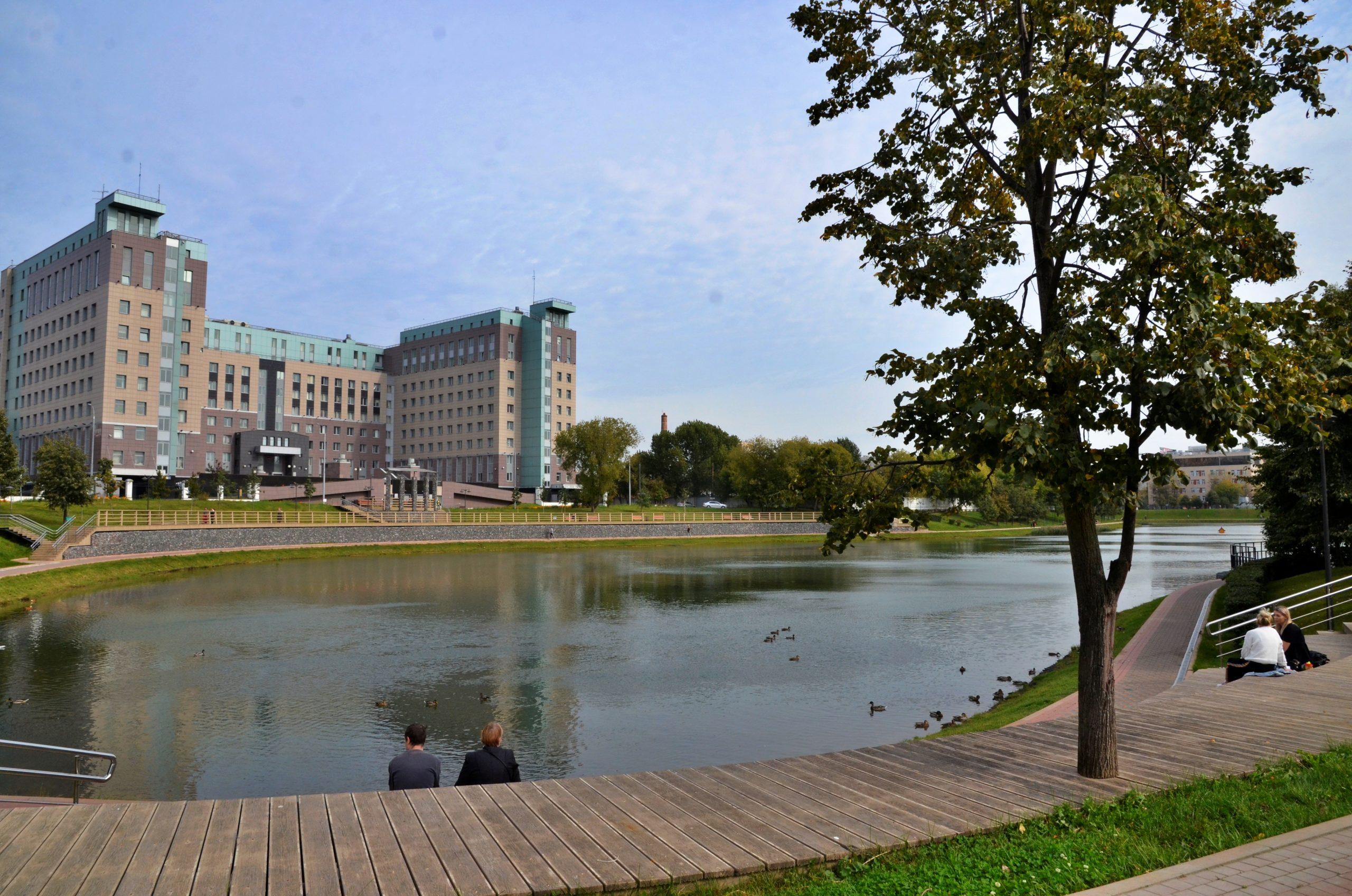 Калитниковский пруд приведут в порядок до конца года. Фото: Анна Быкова