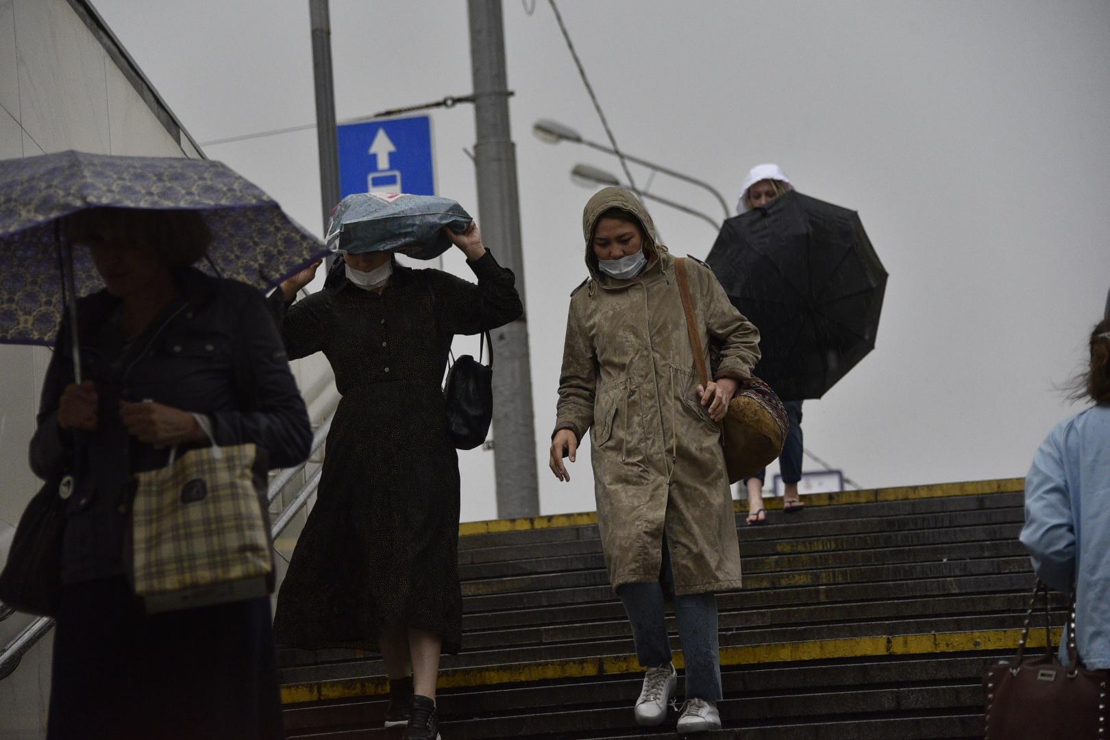 Треть месячной нормы дождя может пройти в Москве 14 октября. Фото: Пелагия Замятина, «Вечерняя Москва»