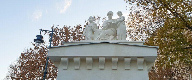 Реставрацию скульптур Императорского воспитательного дома завершили. Фото: сайт мэра Москвы