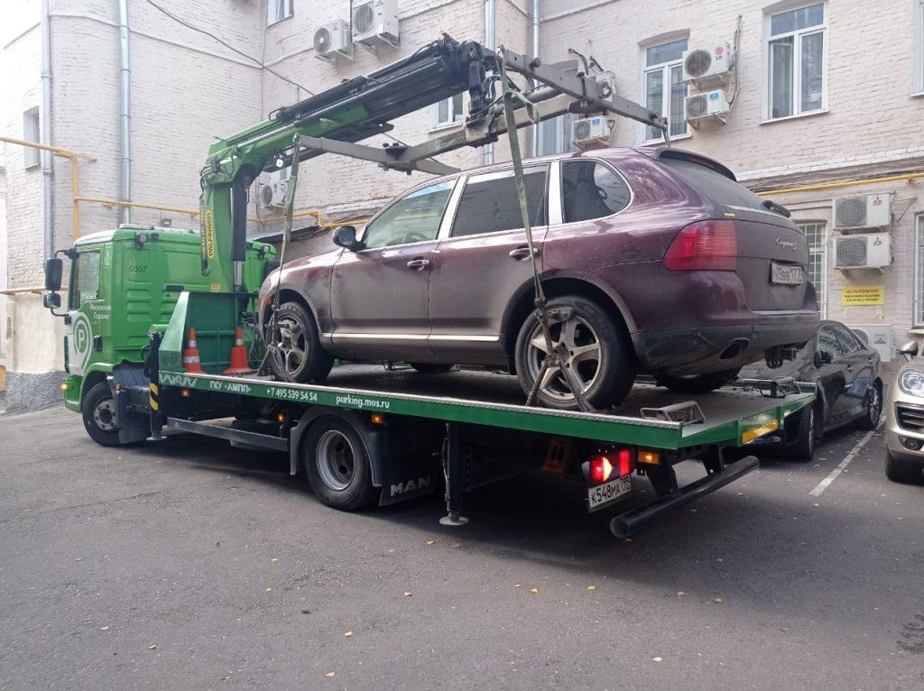 Автомобиль жителя Центрального округа арестован за долги по ЖКУ